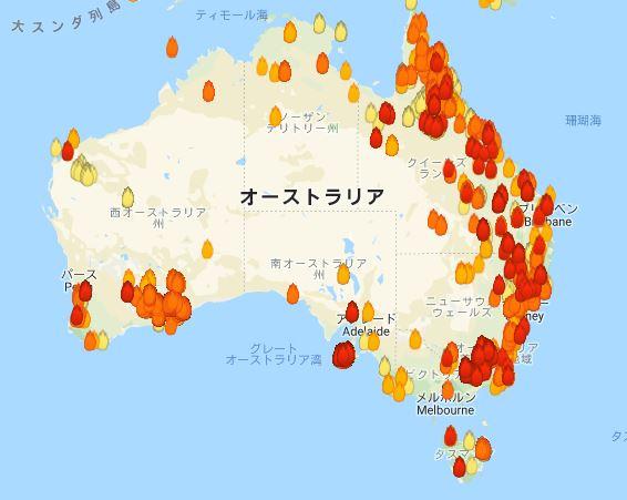 オーストラリアの山火事2020|コアラ被害だけじゃない。前代未聞の規模