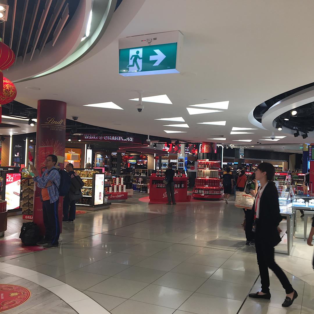 メルボルン空港でプライオリティパスを使いレストランに行きました